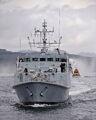 HMS Ramsey departs HMNB Clyde.jpg