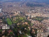 Roma dall'aereo