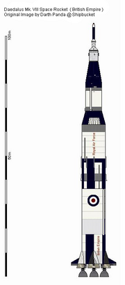 Daedalus Mk.VIII Rocket