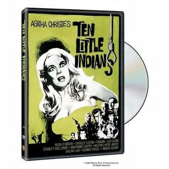 Ten Little Indians DVD cover