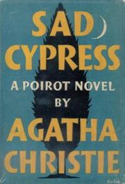 Sad Cypress First Edition Cover 1940