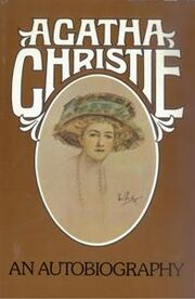 Agatha Christie An Autobiography first edition cover 1977
