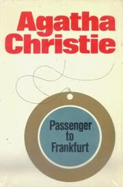 Passenger to Frankfurt First Edition Cover 1970