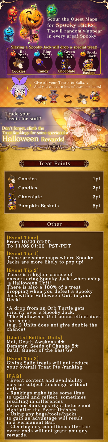 Spooky jack rules