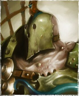 Gutrot Spume Nurgle Colour Illustration