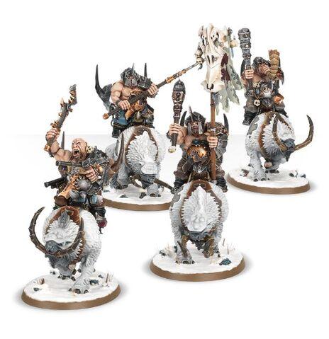 File:Mournfang Beastclaw Raiders Miniatures.jpg