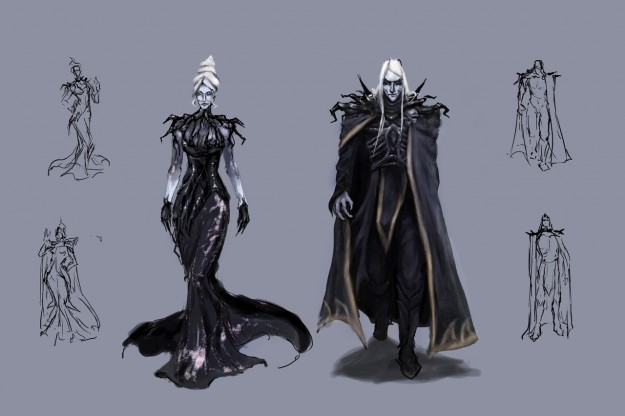 Necromancer Concept Art
