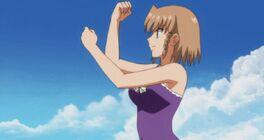 Aika fighting stance 3