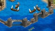 Sea Wall Constantinople