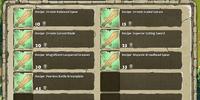 Infantry Recipe Store