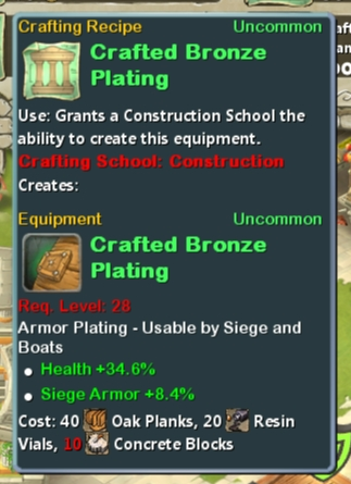 CR Con 28 Crafted Bronze Plating