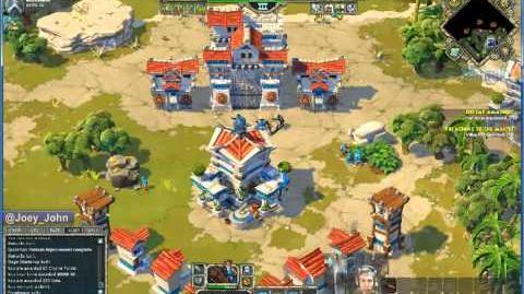 Age Of Empires Online Walkthrough - Pt.176 Greek - Defeat Amathus (I)