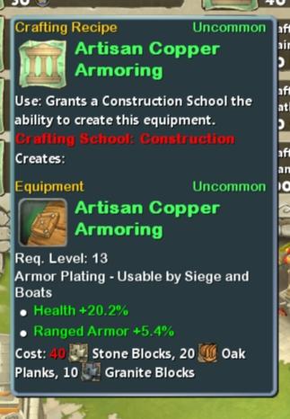 CR Con 13 Artisan Copper Armoring
