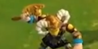 Throwing Axeman