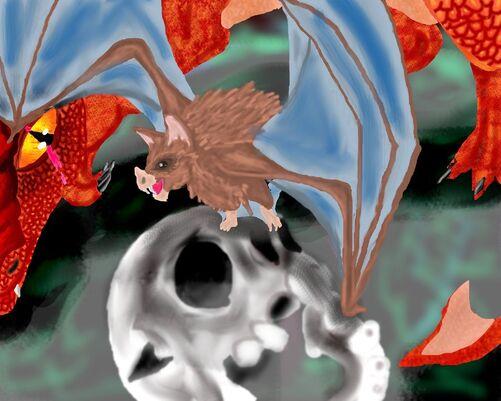 Sneaky old bat thernadad by silvershadowstalker-d3inh49