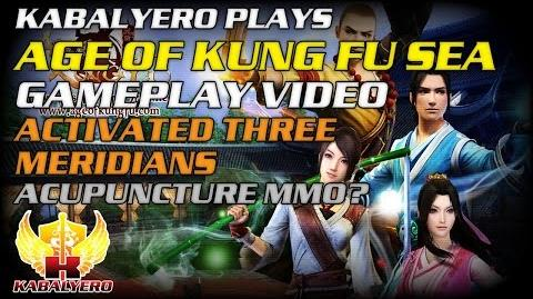 Age Of Kung Fu SEA Gameplay Video ★ Activated Three Meridians ★ Acupuncture MMO?