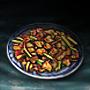 Dryfried Pig's Large Intestines