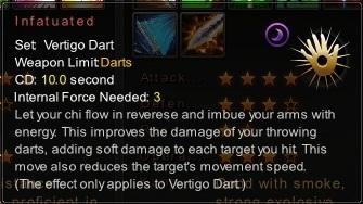(Vertigo Dart) Infatuated (Description)