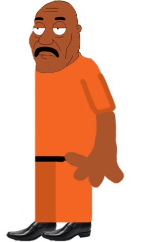LeVar Brown (Jail Uniform)