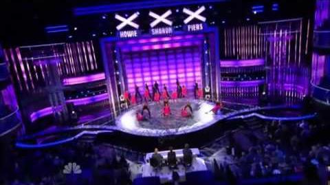 Miami All Stars - America's Got Talent - Hollywood Live
