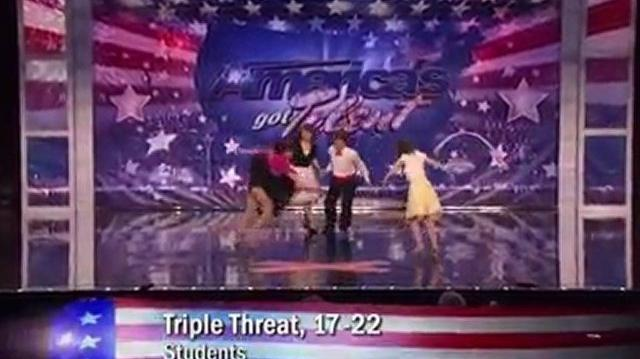 Triple Threat, 17-22 ~ America's Got Talent 2011, New York Auditions-0