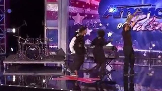 Mike Stone and the Kritikal Band, 22-32 ~ America's Got Talent 2011, Auditions-0