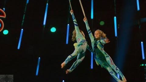 America's Got Talent 2017 Danylo & Oskar and Lera & Nika FUll Clip Judge Cuts S12E08