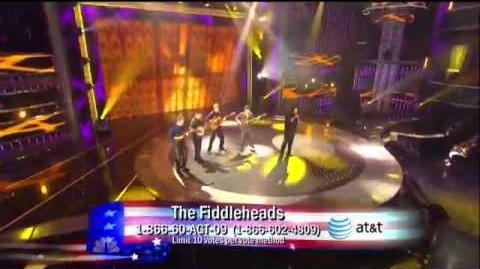 The Fiddleheads, Q1 ~ America's Got Talent 2011 LIVE-0
