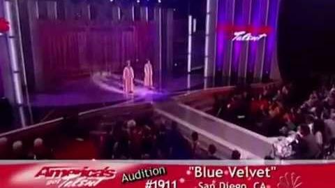 """Blue Velvet Fail (""""America's Got Talent"""")"""