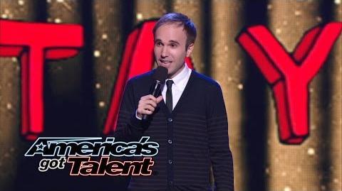 Taylor Williamson Runner-Up Comedian from Season 8 Returns - America's Got Talent 2014