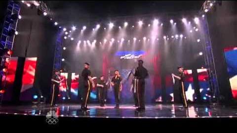 New Guard America - Vegas Round - America's Got Talent 2012