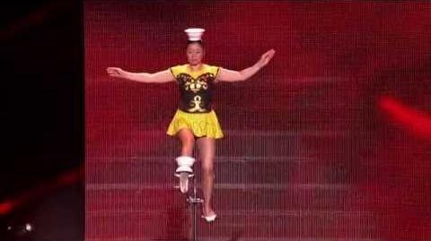 Rong Niu Red Panda - America's Got Talent 2013 Season 8 - Vegas Week