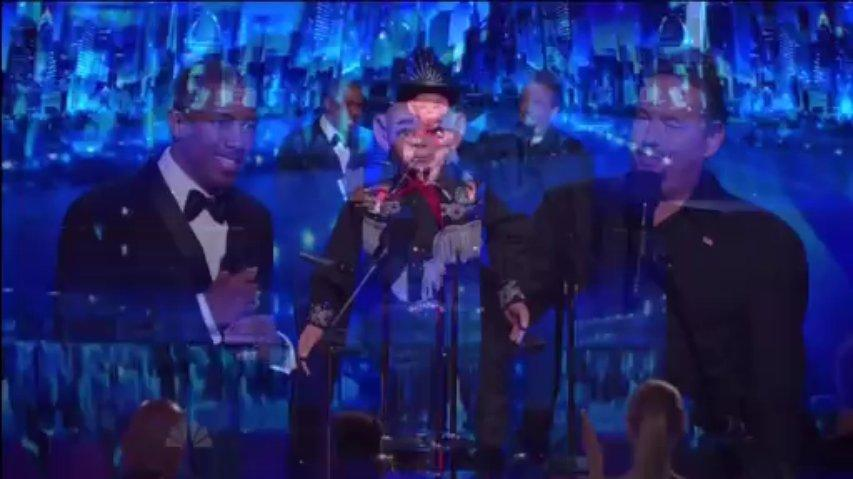 Terry Fator perform Live ~ AGT 2013, The Results