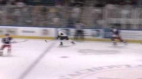 Sean Avery's first goal with the Hartford Wolfpack