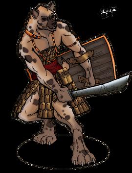 Gnoll Warrior ALTERNATE