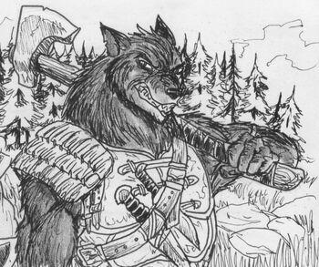 Werewolf legionary by shabazik-d8bjlho