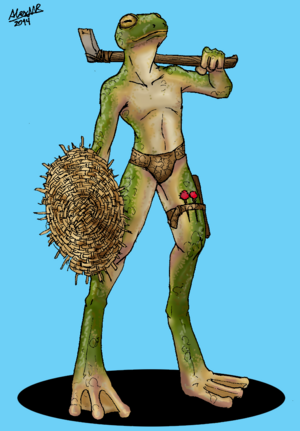 Saah swamp warrior by shabazik-d7dldn7