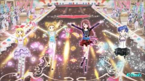 【HD】Aikatsu! - episode 18 - All 4 girls- Growing for a Dream