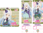 Shirogane Lily Ticket on Aikatsu of Cafe