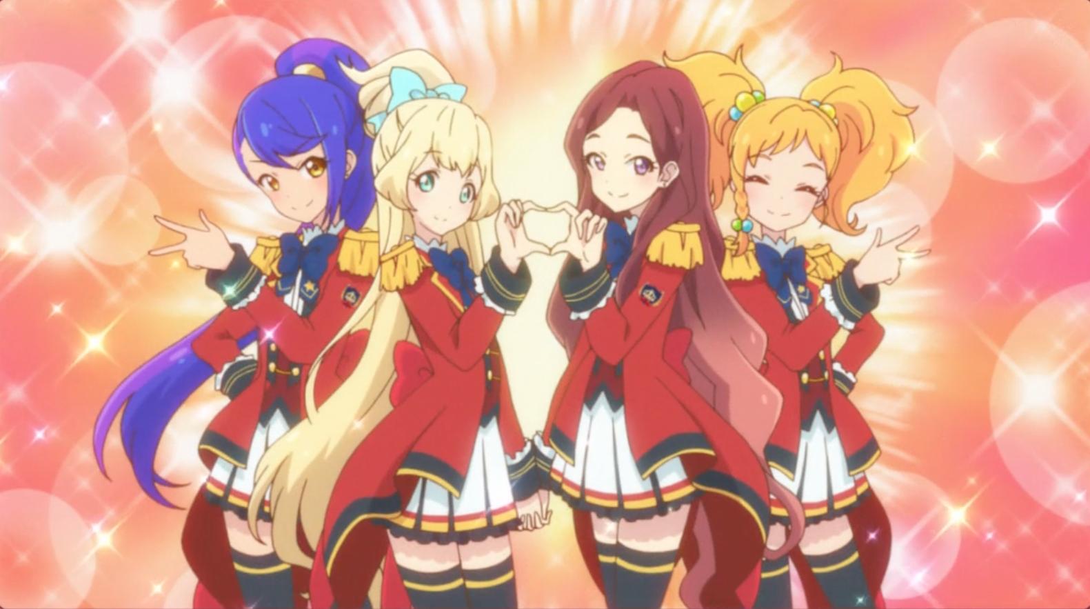 Aikatsu Stars se reúne con Aikatsu en el episodio 2 de Cross-Over