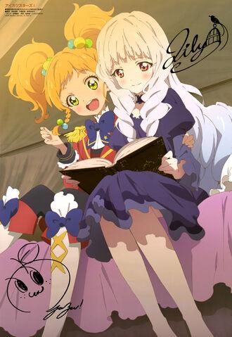 """Résultat de recherche d'images pour """"aikatsu stars lily and yuzu"""""""