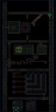 Underground map clear