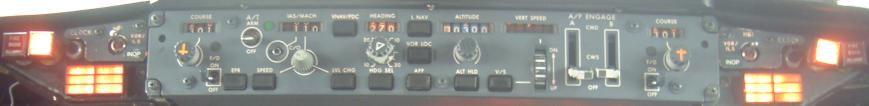 737 Glareshield ADV