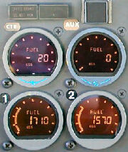 Fuel gauges simmonds 4tank