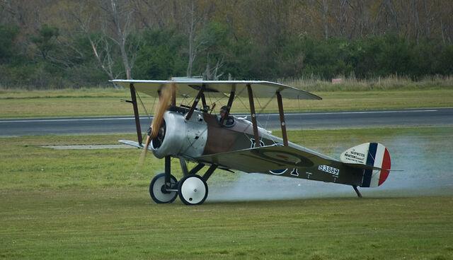 File:Sopwith Camel taking off, Masterton, New Zealand, April 2009.jpg