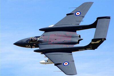 800px-De Havilland (later Hawker Siddeley) Sea Vixen