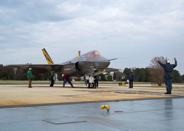 File:F-35C-first-catapult-hookup.jpg