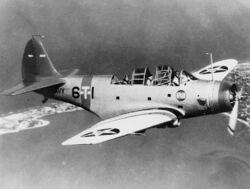 791px-Douglas TBD-1 VT-6 in flight c1938