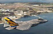 F-35C Lightning II carrier