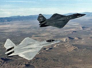 800px-Northrop YF-23 DFRC-1-